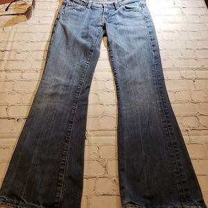C of H Low waist flare Jean's